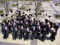 会務トピックス 2013年4月17日付/大学院修了式の後