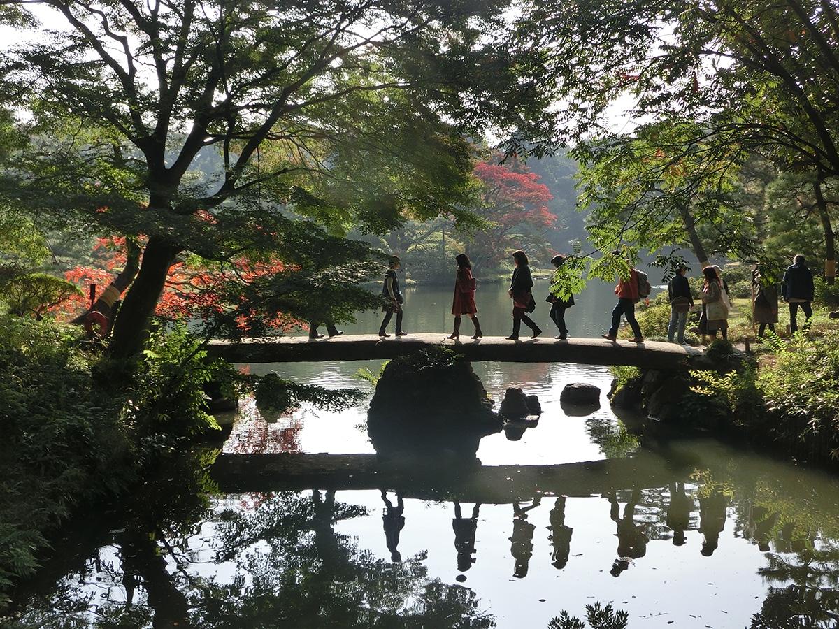 (2016/11/17〜)「六義園にて」