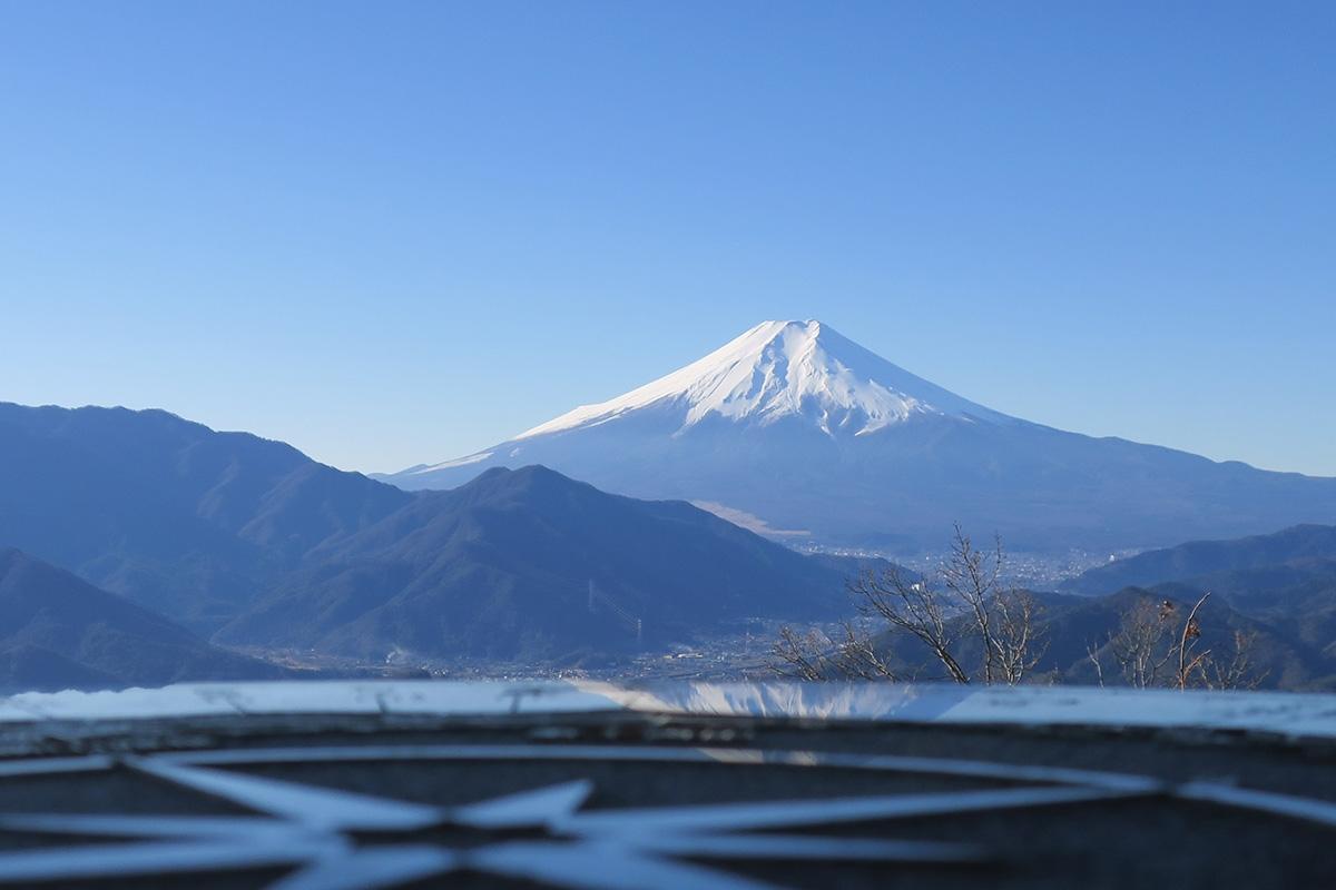 (2017/01/01〜)「秀麗富嶽12景 高川山からの富士」