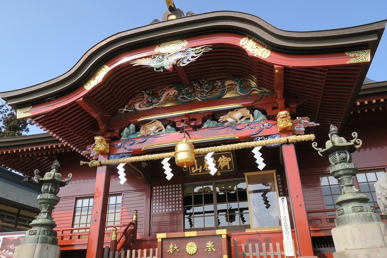 (2017/03/29〜)「改修された御嶽神社」