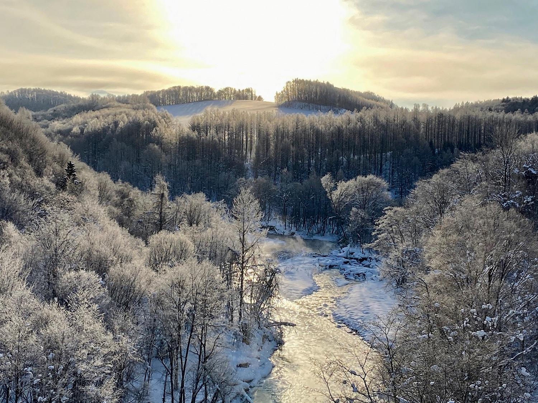 (2020/01/11〜)「−20℃の美瑛川」