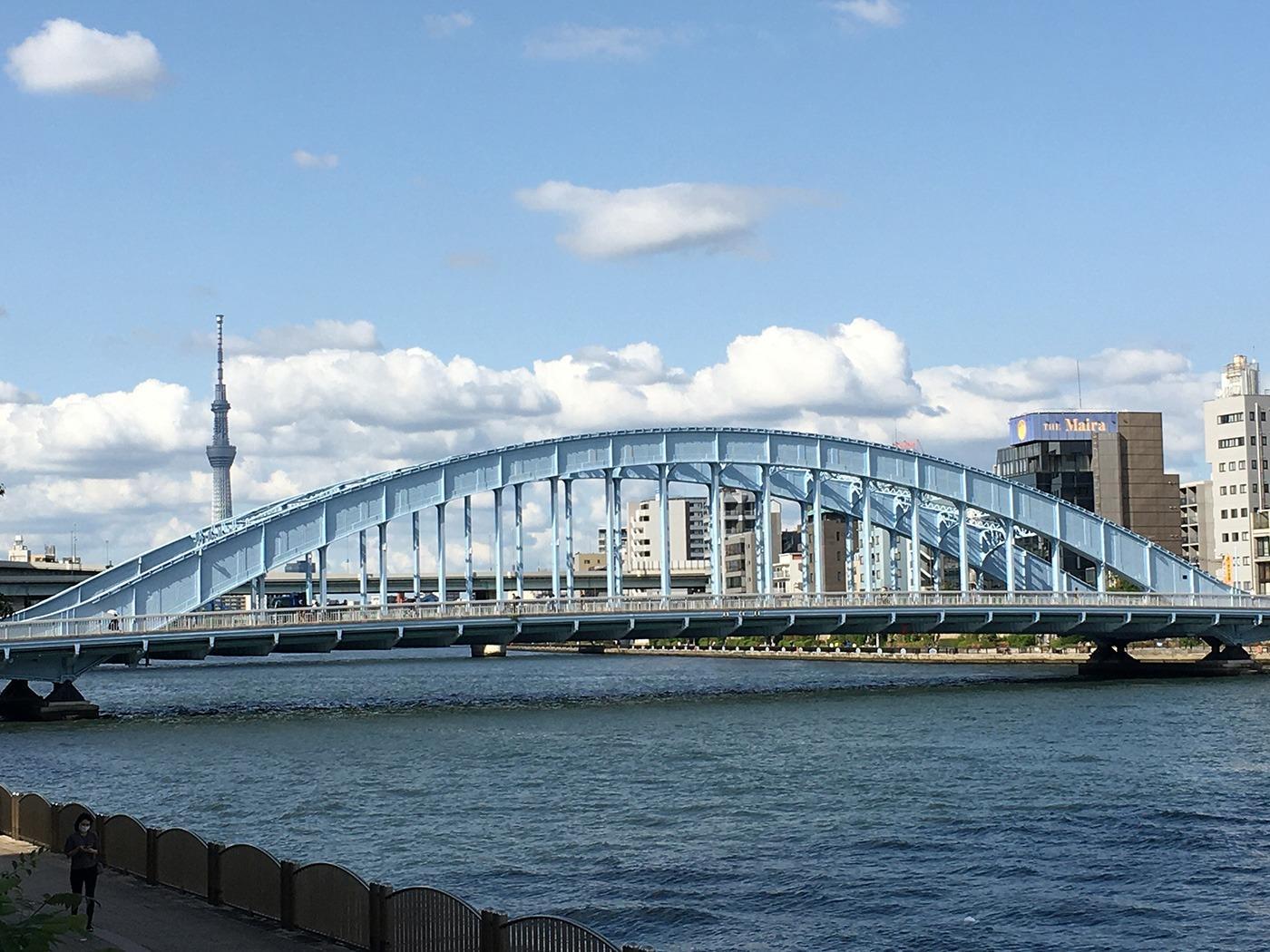 (2020/05/26〜)「永代橋と東京スカイツリー」
