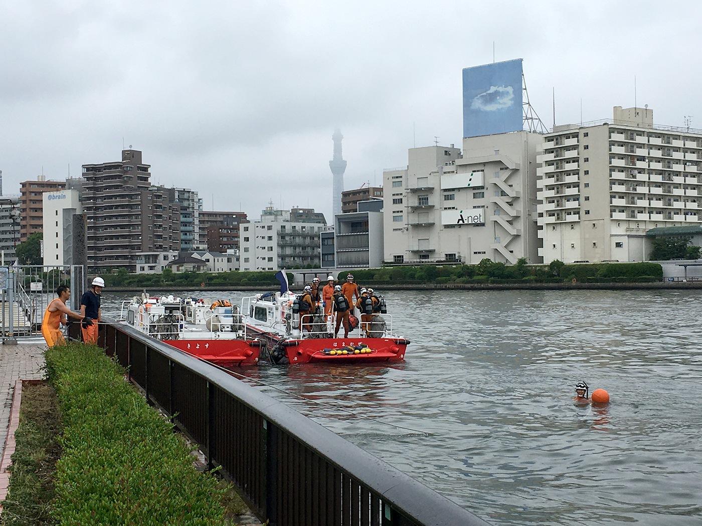 (2020/06/23〜)「日本橋消防署 浜町出張所の消防艇」