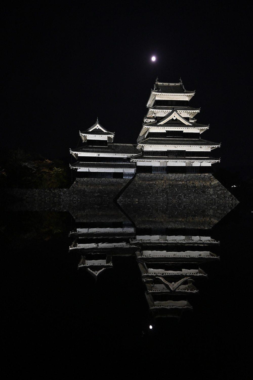 (2020/11/16〜)「月と松本城」