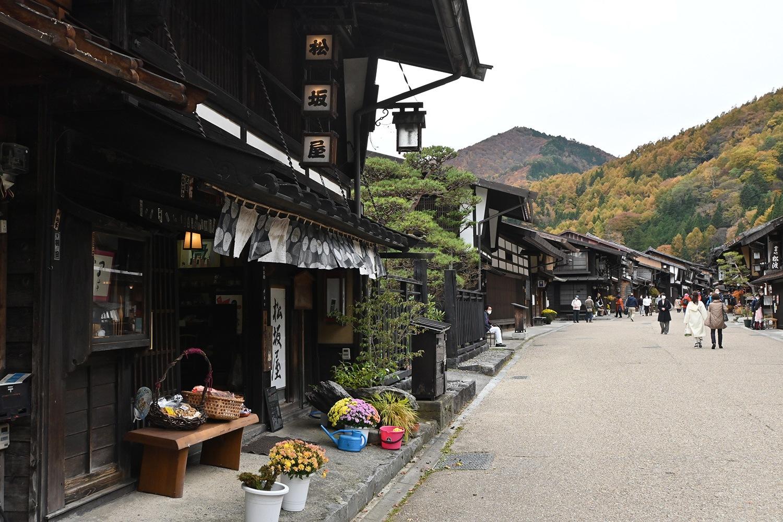 (2020/11/16〜)「秋の奈良井宿」