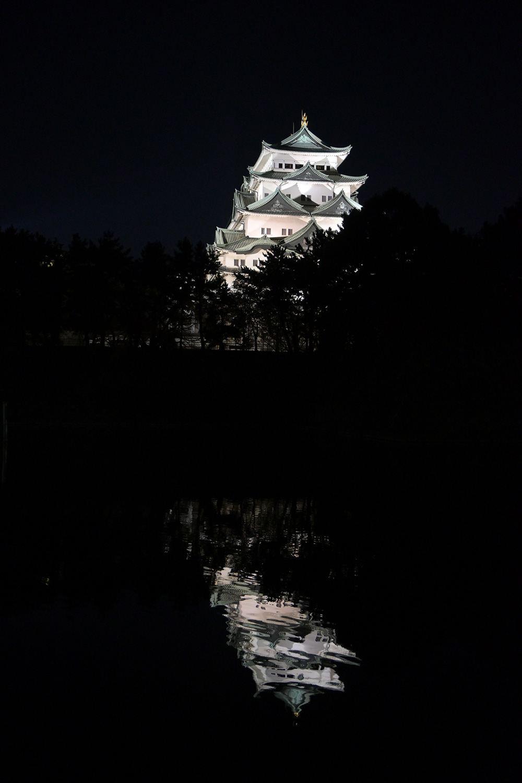 (2020/11/29〜)「名古屋城夜景」
