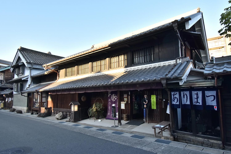 (2020/11/29〜)「有松の町並み」