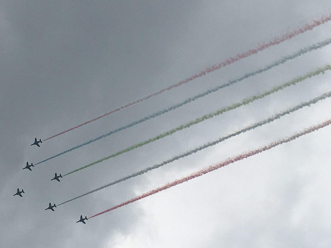 (2021年8月26日〜)「ブルーインパルス パラリンピック展示飛行」