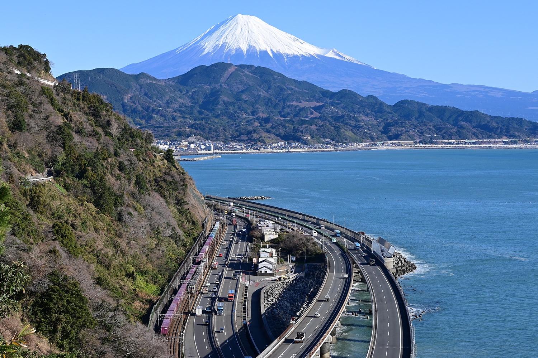 (2020/01/20〜)「薩埵峠から富士山を望む」